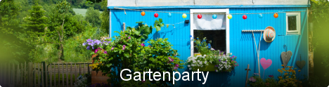 Themenwelt Gartenparty