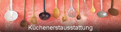 Themenwelt Küchenerstausstattung