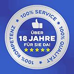 100% Service 100% Qualität 100% Kompetenz