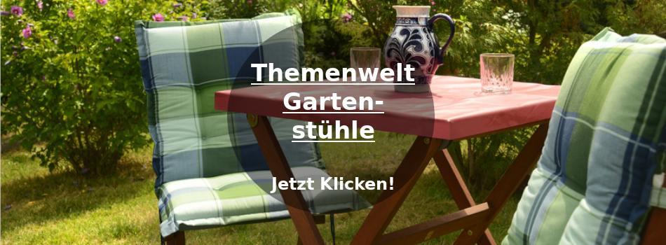 Stühle für den Garten