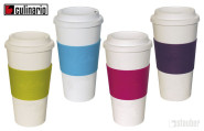 2er Set culinario Coffee to go Kaffeebecher, 470 ml, in verschiedenen Farbkombinationen wählbar