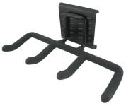 4er Haken für proX universal Geräteaufhängung, Werkzeughalter, Gartengerätehalter, kinderleichte Klickfunktion, Traglast 30 kg/Haken