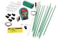 AKO Kleintierzaun Hobbyset, mit Batteriegerät B40, mit Batterien