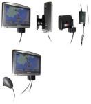 Aktive Brodit Festeinbau-Halterung für TomTom One XL Traffic, mit offenen Kabelenden, 12-24V geeignet, TMC Antenne anschließbar