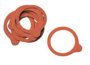 APS 10er Set Gummidichtringe für Deckel der Weck-Gläser Naturkautschuk