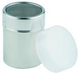 APS Allzweckgiesser/-streuer ca. Durchmesser 5,5 cm, Höhe 7,5 cm Behälter aus Edelstahl Staubdeckel aus Kunststoff Netzstreuer