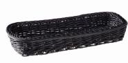 APS Besteck-Korb, Polypropylen, schwarz, 27 x 10 cm, H: 4,5 cm
