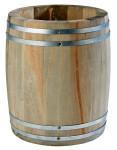 APS Besteckbehälter -Holzfass- aus Holz, Ø 11,5 cm, Höhe: 14 cm