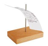APS Bonspieß aus Holz, ca. 9 x 5,5 cm, Höhe 10,5 cm, Spieß aus flexiblem Kunststoff, mit stumpfen Enden zur Unfallverhinderung