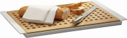 APS Brotschneidebrett -BROTSTATION, Buchen-Holz, 52 x 34 cm, H: 2 cm, ohne Melamin Tablett