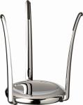 APS Buffetständer KING Durchmesser 15 cm, H: 21 cm Zinkdruckguß hartverchromt mit Antirutschflächen schwere standsichere Qualität