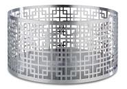 APS Buffetständer / -korb aus Edelstahl, mattiert, Ø 21 cm, Höhe: 10,5 cm