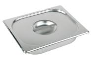 APS Deckel für GN-Behälter 2/3 325 x 354 mm ohne Löffelaussparung Edelstahl