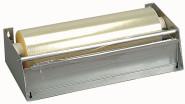 APS Folien-Abreißvorrichtung 34,5 x 16 cm, H: 9 cm Stahlblech Folienbreite: 30 cm für Endlosfolien mit einem max. Durchmesser von 80 mm