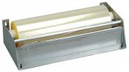 APS Folien-Abreißvorrichtung 49 x 16 cm, H: 9 cm Stahlblech Folienbreite: 45 cm für Endlosfolien mit einem max. Durchmesser von 80 mm mit Abreißkante