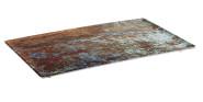 APS GN 1/1 Tablett -AQUARIS- aus Melamin, 53 x 32,5 cm, Höhe 2 cm Farbe: Kupfer, gebürstet