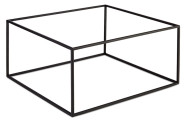 APS GN Buffetständer -ASIA PLUS- aus Metall, schwarz, 35,4 x 32,5 x 17,6 cm