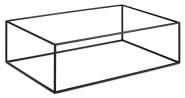 APS GN Buffetständer -ASIA PLUS- aus Metall, schwarz, 53 x 32,5 x 16,2 cm