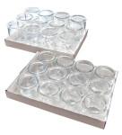 APS Gourmet-Gläser, 12er Set, bestehend aus: 12 Gläsern, Ø 6 cm, H: 8,5 cm, 0,2 Liter
