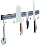 APS Magnet-Messerhalter ca. 60 cm Länge, Breite 4 cm Kunststoff schwarz