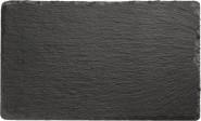 APS Naturschieferplatte, mit Antirutschfüßen, 24 x 15 cm, H: 0,5 cm