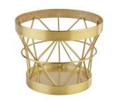 APS PLUS Buffetständer aus Metall mit einem Ø von 10,5 cm und 8 cm Höhe