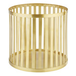 APS PLUS Buffetständer aus Metall mit einem Ø von 21 cm und 20 cm Höhe