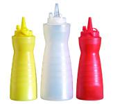 APS Quetschflasche, weiß ca. Durchmesser 6 cm, H: 20 cm Polypropylen, ca. 350 ml mit Schraubdeckel inklusive Verschlusskappe