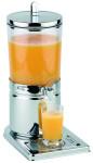 APS Saftdispenser -Top Fresh- ca. 21 x 32 cm, Höhe 43 cm 4 Ltr, 18/10 Edelstahl kratz- und stoßfest, spülmaschinenfest