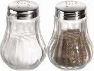 APS Salz und Pfefferstreuer, Behälter aus Glas, je Ø 5 cm, H: 6,5 cm