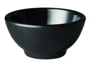 APS Schüssel -PURE- ca. Durchmesser 13 cm, Höhe 6,5 cm Melamin, schwarz, ca.0,3l 1A Qualität, original Melamin spülmaschinenfest