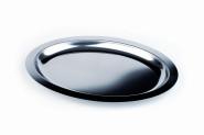 APS Servierplatte -Finesse- oval, ca. 50 x 36 cm Tiefe 26 mm, 2 Liter Edelstahlextra tiefe Ausführung