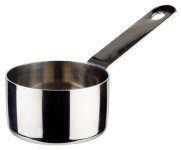 APS Stielkasserolle / Serviertopf aus Edelstahl, Ø 5 cm, Höhe: 3 cm