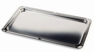 APS Tablett -Profi Line- GN 1/1 - 53 x 32,5 cm 18/10 Edelstahl poliert mit glattem Rand