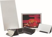APS Tischkartenhalter ca. 6,1 x 4,5 cm, Höhe 4 cm Edelstahl