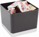 APS Tischreste- / Universalbox, ABS, schwarz, 13,5 x 13,5 cm, H: 11 cm