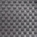 APS Tischset - anthrazit, Polypropylen, Breitband, 45 x 33 cm