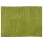 APS Tischset apfelgrün 45 x 33 cm aus PVC Platzset, 1 Stück, Tellerunterleger geflochten