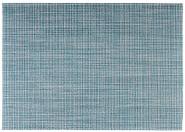 APS Tischset aus Kunststoff, 45 x 33 cm, Platzset, Tellerunterleger, Feinband, türkis/grün/weiß