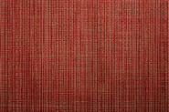 APS Tischset aus PVC, Feinband, 45 x 33 cm, rot, braun