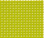 APS Tischset - grün, PVC, Schmalband, 45 x 33 cm