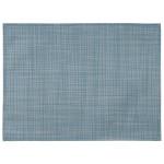 APS Tischset hellblau-weiß 45 x 33 cm aus PVC Platzset, 1 Stück, Tellerunterleger geflochten