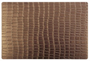 APS Tischset in kupfer CROCO aus Kunststoff, 45 x 30 cm