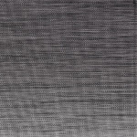 APS Tischset - schwarz, grau, PVC, Feinband, 45 x 33 cm