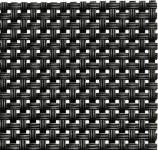 APS Tischset - schwarz, PVC, Schmalband, 45 x 33 cm