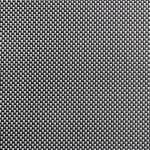 APS Tischset - schwarz, weiss, PVC, Schmalband, 45 x 33 cm