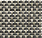 APS Tischset - silbergrau, PVC, Schmalband, 45 x 33 cm