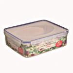5 Stück AXENTIA Airproof Aufbewahrungsdosen, Vorratsdosen, Frischhalteboxen, Multifunktionsboxen 4,70 Liter eckig 30 x 24,5 x 9,0 cm, Set by Danto®