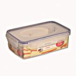AXENTIA Airproof Vorratsdose, Frischhaltebox, Gefrierdose, Multifunktionsbox 1,20 Liter eckig 21,5 x 13,5 x 7,0 cm