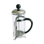 AXENTIA Kaffee- und Teebereiter 600 ml Glas und Edelstahl